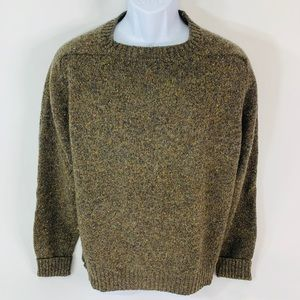 Pendleton Sz XL Green Virgin Wool Sweater